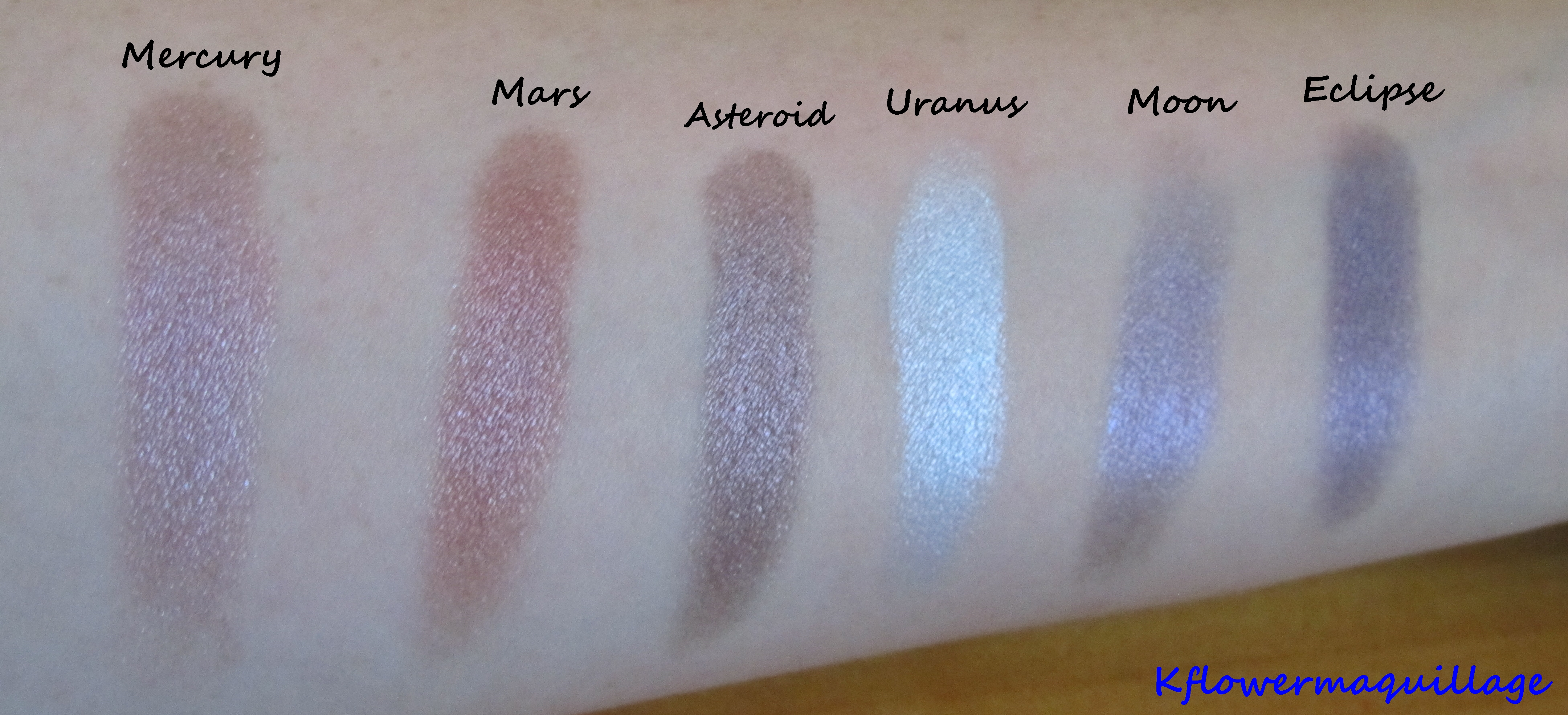 Galaxy Chic Baked Eyeshadow Palette by BH Cosmetics #3