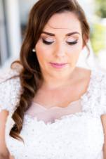MUA: Magnifique Makeup Artistry. Photography: Life and Love Photography. The stunning bride.