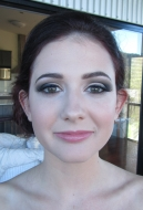 MUA: Magnifique Makeup Artistry. Ball makeup on Emma.