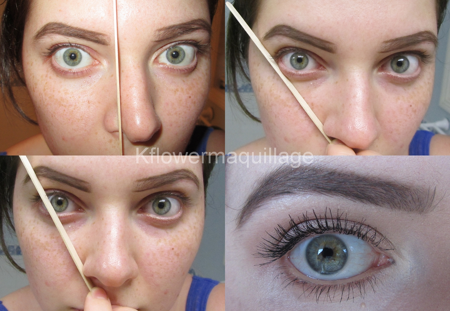 how to put makeup on my eyebrows